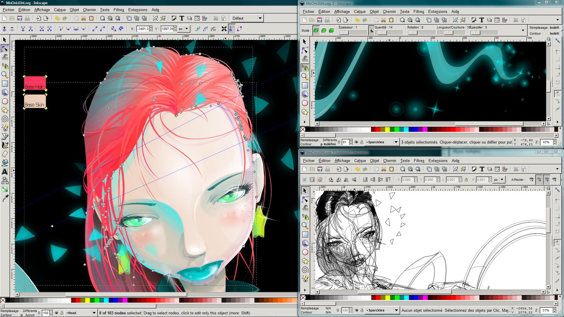 Inkscape: Gráficos vectoriales gratuitos