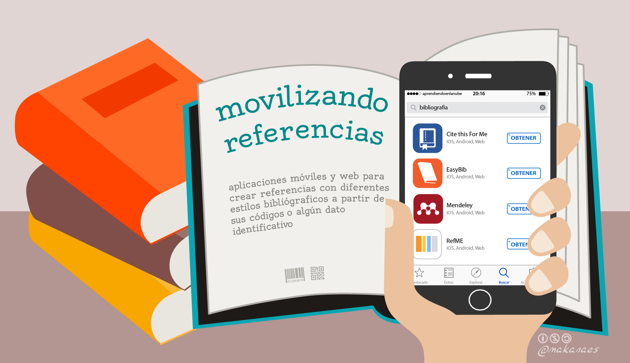 Movilizando referencias bibliográficas
